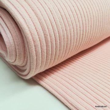 Bündchen Schlauch Heavy rosa