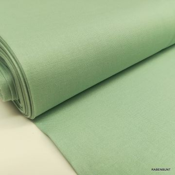 Baumwolle uni apfelgrün