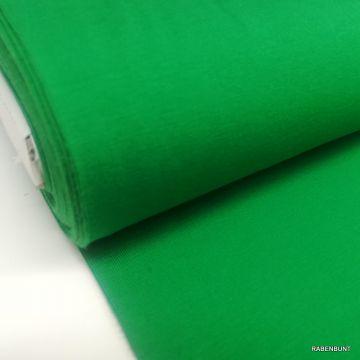 Baumwolljersey uni grün