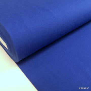 Baumwolljersey uni königsblau