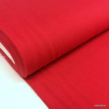 Baumwolljersey uni rot, uni jersey, uni stoffe, jersey uni rot, jersey einfarbig,