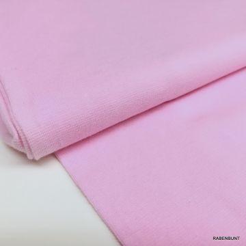 Baumwolljersey uni rosa 160cm