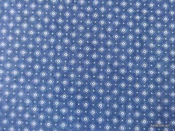 Jeansstoff Raute marine für trendige Teile! Hose, Röcke oder Kleider, Schildkappen. 140cm breit. 100% Baumwolle, Webware. 40°C waschen ökotex 100