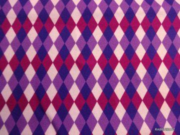 Sweatshirtstoff Girly Diamonds. Wunderbar für Hoodys, Kleider, Hose und Schals geeignet. 90% Baumwolle 10% Elastan 150cm breit, Feinwäsche 30°C