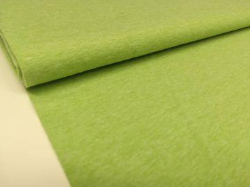 Sehr schöner Baumwolljersey Stoff, meliert. Weich, dünn dennoch stabil im Form. Ideal für Sommerkleidung, solo oder als Kombistoff. Zusammensetzung: 95% Baumwolle, 5% Elastan Breite 150cm. Gewicht 220gr/m²Waschen bei 30-40°C