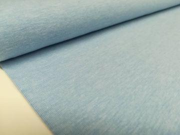 Sehr schöner Baumwolljersey Stoff, meliert. Weich,dünn dennoch stabil im Form. Ideal für Sommerkleidung, solo oder als Kombistoff.
