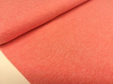 Sehr schöner Baumwolljersey Stoff, meliert. Weich,dünn dennoch stabil im Form. Ideal für Sommerkleidung, solo oder als Kombistoff. Zusammensetzung: 65%Baumwolle 30%Polyester 5%Elastan. Breite 150CM Gewicht 220GR/QM Waschen bei 30-40°C