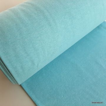Bündchen hellblau melange 35cm