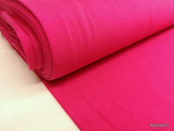 baumwolljersey uni pink
