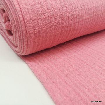 Musselin uni pink