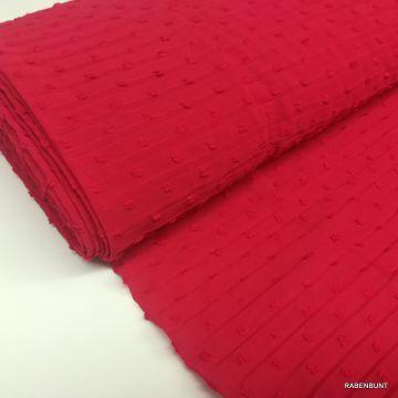 Plissee Tupfen rot Plissee Stoff rot Plissee Stoffe Modestoffe