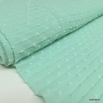 Plissee Tupfen mint Plissee Stoff mint Plissee Stoffe Modestoffe
