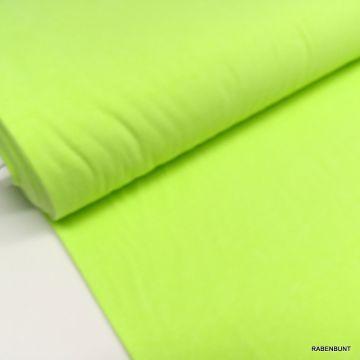 Jersey neongelb, jersey neonfarben, sommerjersey gelb, beumwolljersey neongelb, rabenbunt,