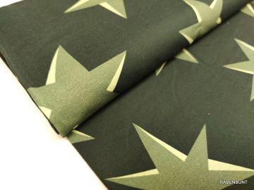 Sweat Big Pattern Sterne navy-grün