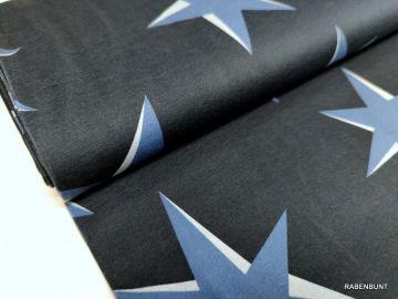 Sweat Big Pattern Sterne marine