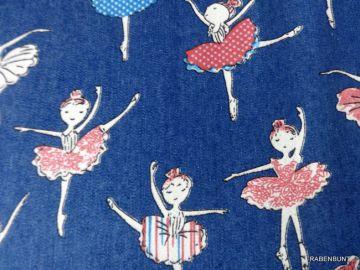 Jeansstoff Ballerina