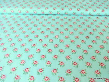 Baumwolle Emilie im Landhausstil, zum patchworken, nähen, dekorieren.