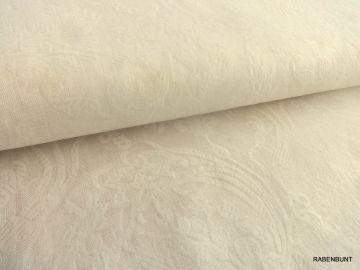 Webware Baumwollstoff Flora, 100% Baumwolle. Hautfreundlich, perfekt für Sommerbekleidung, Taufkleider, Erstkommunion.
