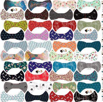Masken Stoff Baumwolle zum herausschneiden 40 Stück