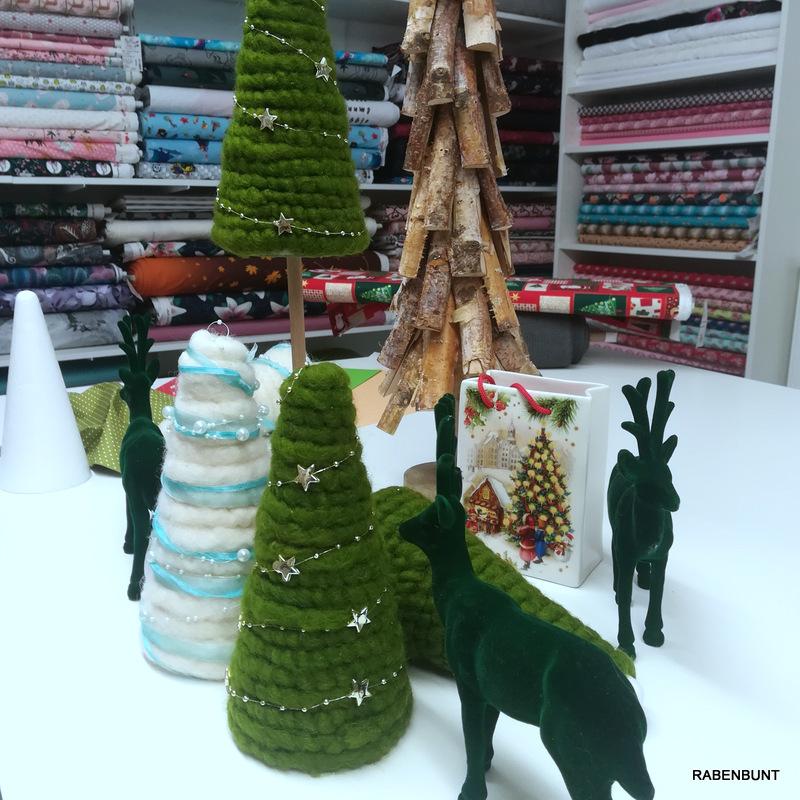 Weihnachtsbaum selber basteln